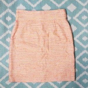 Antonio Melani sz 8 Orange Pencil Skirt Career